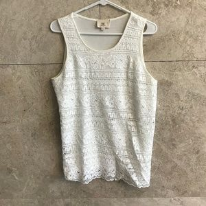 White Knit Camisole